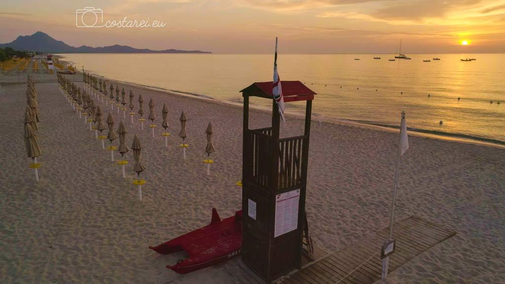 spiaggia privata costa rei