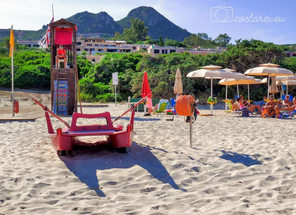free beach residence costa rei bagnino privato spiaggia