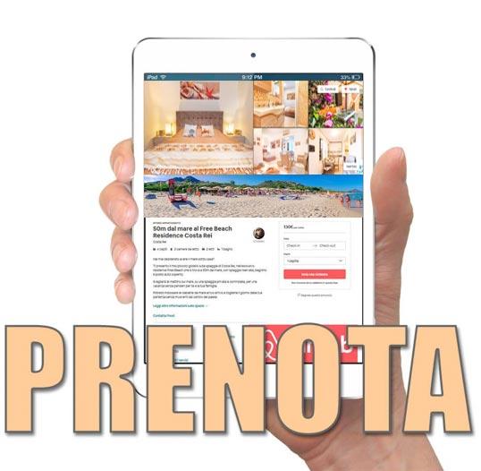 prenotazione residence free beach 2019