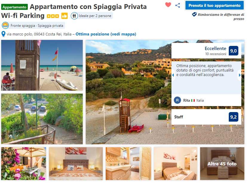 appartamento-costa-rei-booking