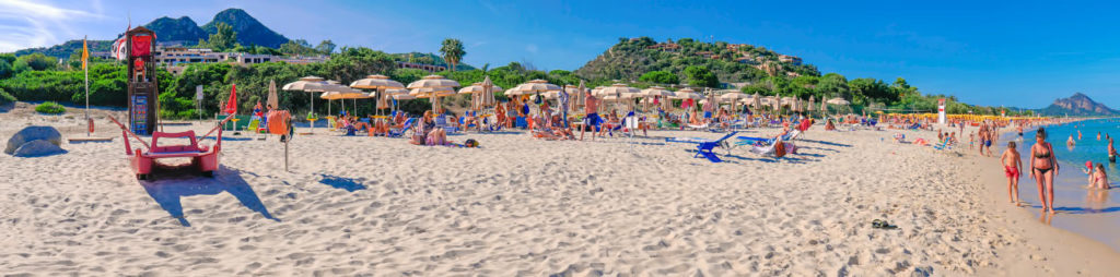 spiaggia privata residence free beach Costa Rei