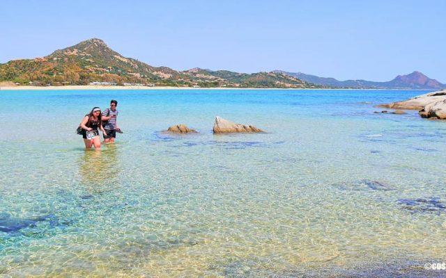 scoglio di Peppino Costa Rei Sardegna